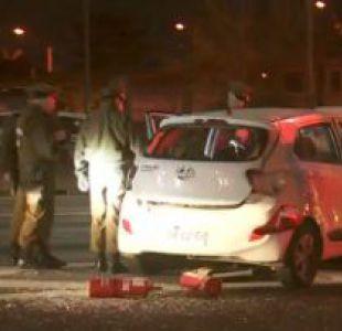 [VIDEO] Persecución policial finaliza con accidente vehicular tras robo en Mall Plaza Oeste