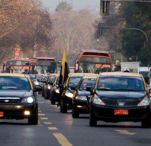 [VIDEO] Ley Uber: taxistas anuncian movilizaciones tras indicaciones del gobierno