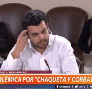 [VIDEO] Piden pasar a Comisión de Ética a diputados que cuestionaron a abogado por no usar corbata