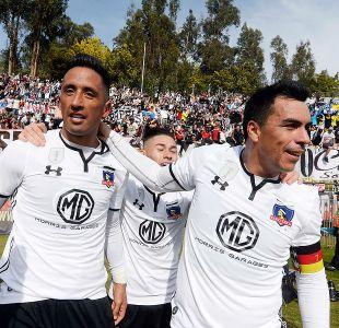 Colo Colo celebra ante La Calera de la mano de Barrios y Paredes
