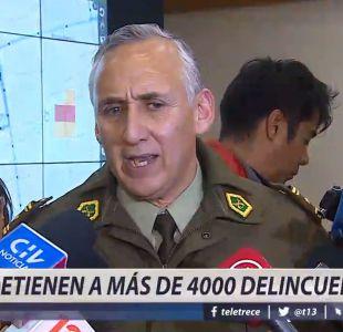 [VIDEO] Detienen a más de 4.000 delincuentes