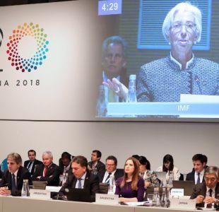EEUU inflexible sobre comercio marca la agenda del G20