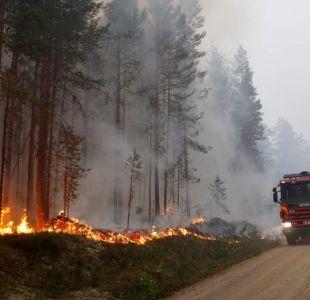Las impresionantes imágenes de la ola de calor que afecta a Europa