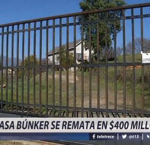 [VIDEO] Casa búnker se remata en $400 millones