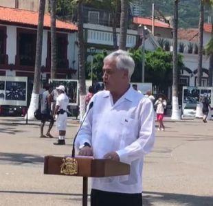 [VIDEO] Piñera se refiere a polémicos dichos de Varela: Uno puede o no compartir la forma