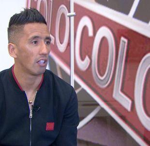 """[VIDEO] Barrios celebra regreso goleador a Colo Colo: """"Me entiendo muy bien con Paredes"""""""