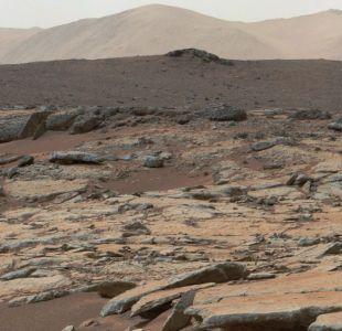 Descubren lago de agua líquida en Marte