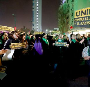 [VIDEO] Realizan manifestación en rechazo a ataques a mujeres durante marcha pro aborto