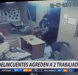 [VIDEO] Investigan violento asalto a distribuidora de gas en Maitencillo