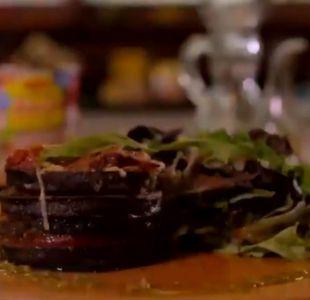 ¿Cómo preparar discos de berenjena con salsa Tuco?
