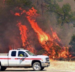 Los remolinos de fuego que obligaron a miles de personas a huir en California