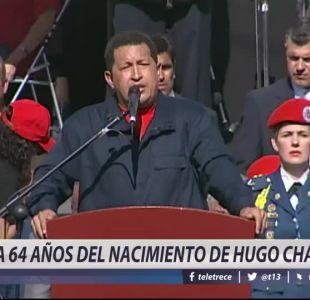 [VIDEO] A 64 años del nacimiento de Hugo Chávez