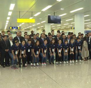 Deportistas norcoreanos llegan al Sur para preparar los Juegos asiáticos