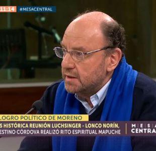 Alfredo Moreno y reunión con líderes de La Araucanía: Se incluirá gente de la CAM