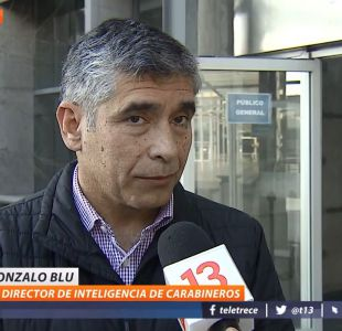 [VIDEO] General (R) Blu se entrega a tribunales