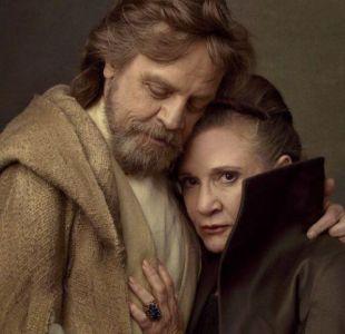 Star Wars: Mark Hamill recuerda a Carrie Fisher en la que será su última película juntos