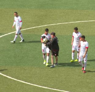 """[VIDEO] La figura que """"se robó la pelota"""" en la Primera B del fútbol chileno"""