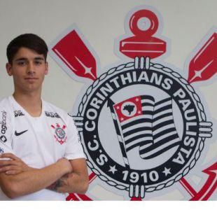 Con la aprobación del Rey: Vidal felicita a Araos tras su llegada al Corinthians