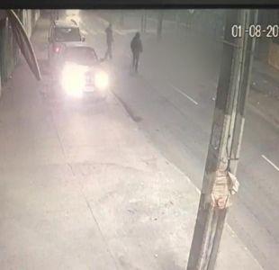 [VIDEO] Carabinero atropelló a dos personas y huyó