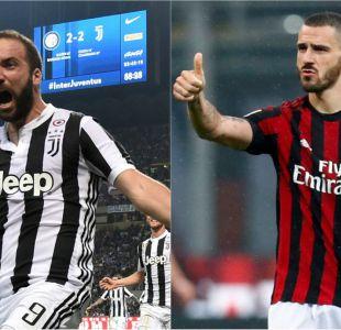 El trueque Milan-Juventus que involucra a Higuaín y Bonucci