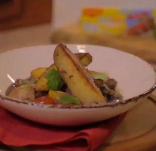 #SaboresT13: ¿Cómo preparar un rico salteado de verduras al carmenere?