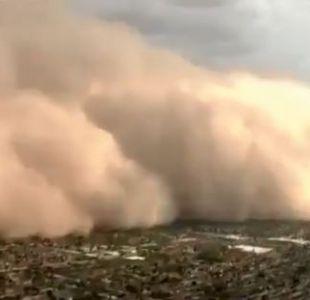 [VIDEO] El impresionante registro de la tormenta de arena que pasó por Phoenix
