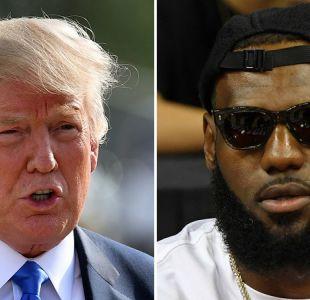 El duro mensaje de Donald Trump a LeBron James