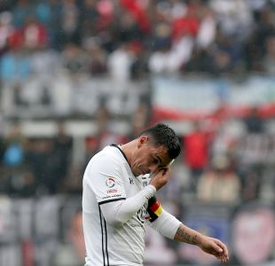 Colo Colo no podrá contar con Esteban Paredes para su próximo partido
