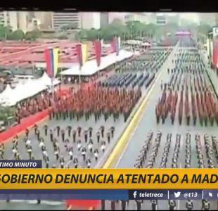 [VIDEO] Gobierno denuncia atentado a Maduro