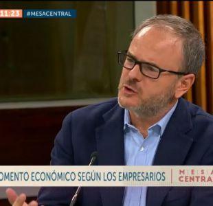 """Presidente de la Sofofa: """"El mundo empresarial debe ser pro cambios"""""""