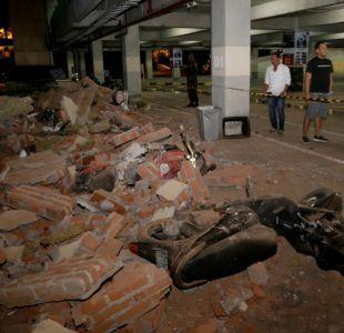 Terremoto en Indonesia: Encuentran 34 cuerpos de estudiantes en las ruinas de una iglesia
