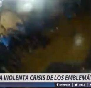 [VIDEO] La violenta crisis de los emblemáticos