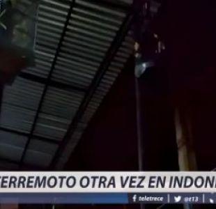 [VIDEO] Terremoto otra vez en Indonesia