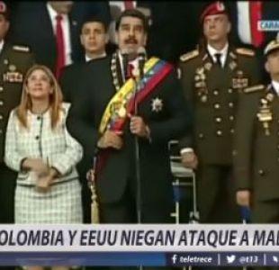 [VIDEO] Colombia y Estados Unidos niegan ataque a Nicolás Maduro