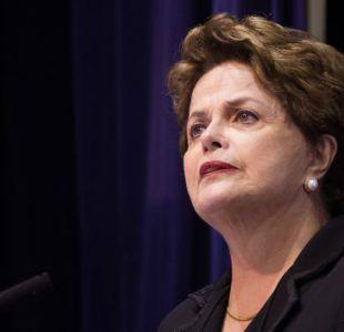 Dilma Rousseff presenta candidatura al Senado de Brasil