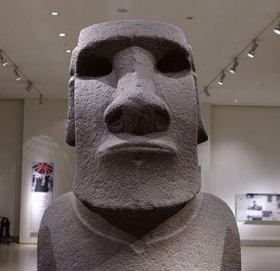 El moai Hoahakananaia