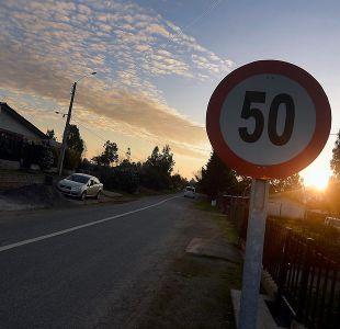 Cursan más de 100 infracciones por no respetar nuevo límite de velocidad en Santiago