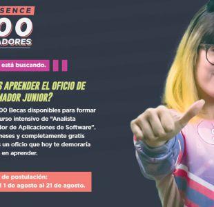 [VIDEO] Sence abre postulaciones para mil becas de programadores en todo Chile