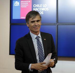 Ministro Valente y alza en Imacec: Los chilenos creen que Chile va por mejor camino