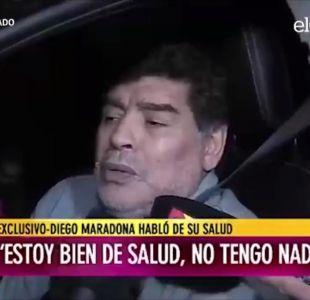 [VIDEO] Maradona y su diezmado estado