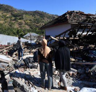 Aumentan a 131 los fallecidos por el terremoto en Indonesia