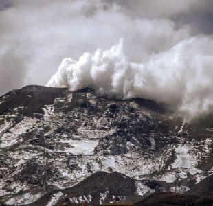 El impactante registro del nuevo pulso en Nevados de Chillán