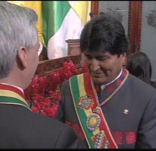 [VIDEO] Insólito robo de medalla presidencial de Bolivia