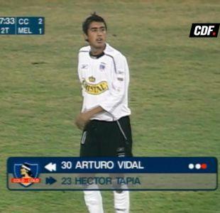 [VIDEO] Fue en 2005: Así fue el primer partido de Arturo Vidal