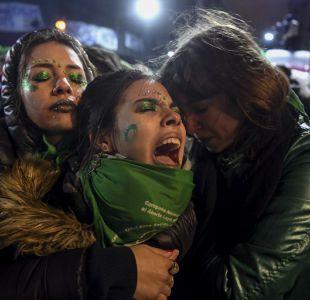 Legalización del aborto en Argentina se hunde en el Senado