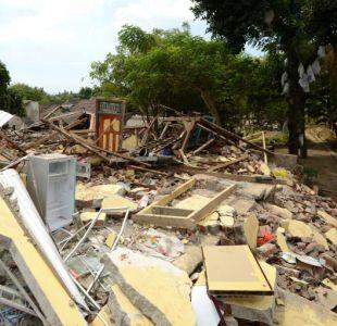 Aumentan a 319 los fallecidos por terremoto en Indonesia
