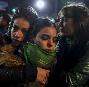 [VIDEO] Senado argentino rechaza proyecto de aborto legal