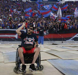 [VIDEO] El testimonio de un hincha sobre cómo es ir al estadio en silla de ruedas en Chile