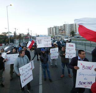 [VIDEO] Colectiveros realizan radical protesta contra la Ley Uber
