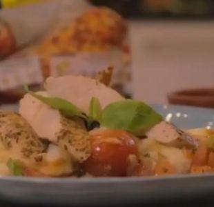 #SaboresT13: ¿Cómo preparar puré napolitano con pollo?
